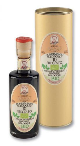 B-R0285: Condimento Agrodolce 'PREGIATO 10' 250ml