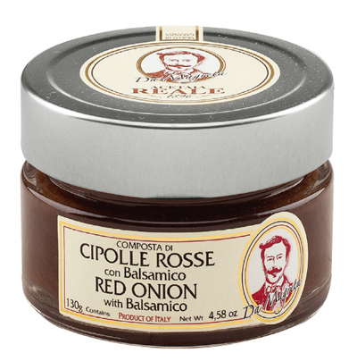 RED ONION COMPOTE WITH BALSAMIC (130g)