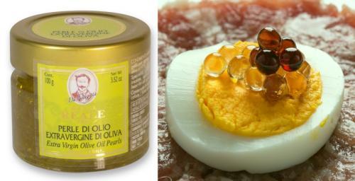 R0645: Perle di Olio d'Oliva Extra Vergine 100g