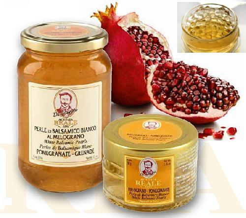 WHITE PEARLS flavoured POMEGRANATE 50g/370g