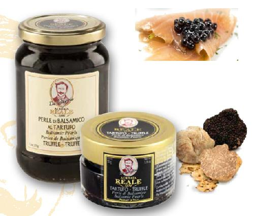 BALSAMIC PEARLS flavoured TRUFFLE 50g/370g